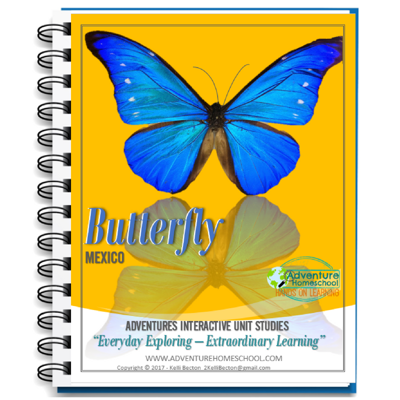 Butterfly Unit Study - Mexico